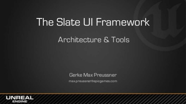 The Slate UI Framework