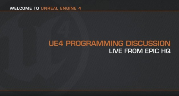 UE4 Programming Discussion
